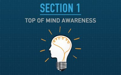 """The Importance of Top of Mind Awareness – Section 1 of """"The Blueprint – How to Attract & Retain Customers Online"""""""