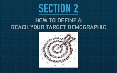 """How to Define and Reach Your Target Demographic – Section 2 of """"The Blueprint – How to Attract & Retain Customers Online"""""""
